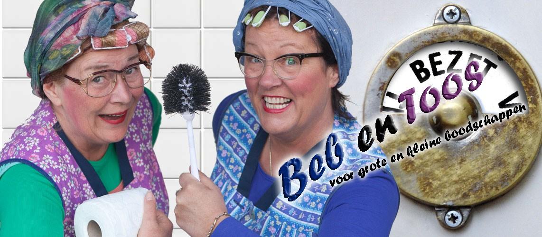 Beb en Toos – schone toiletten met een lach!
